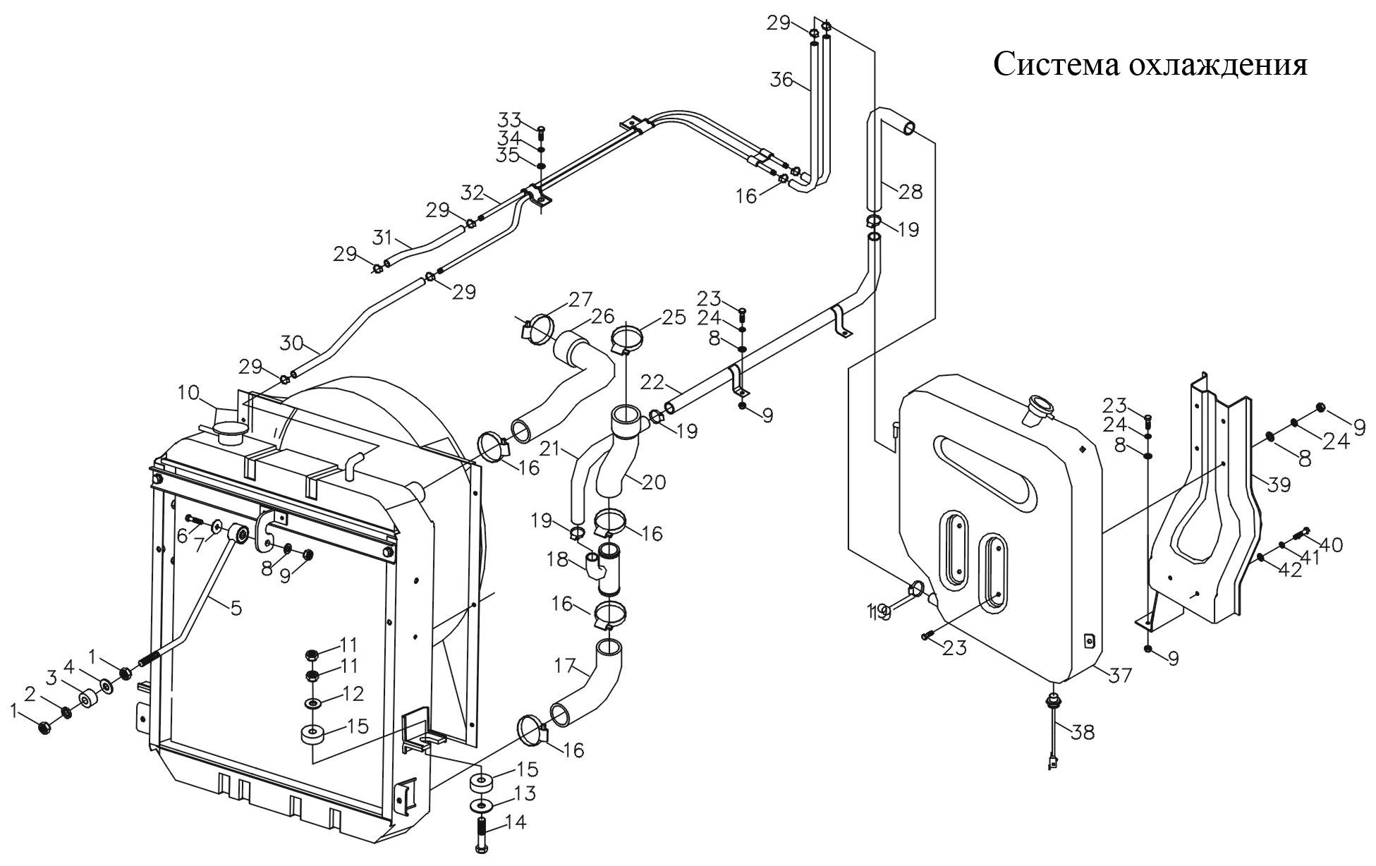Схема автомобиля фотон